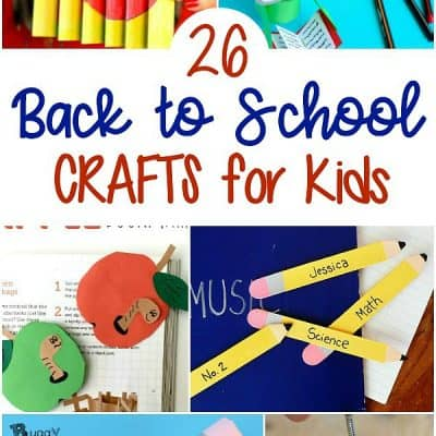 25+ back to school crafts for kids