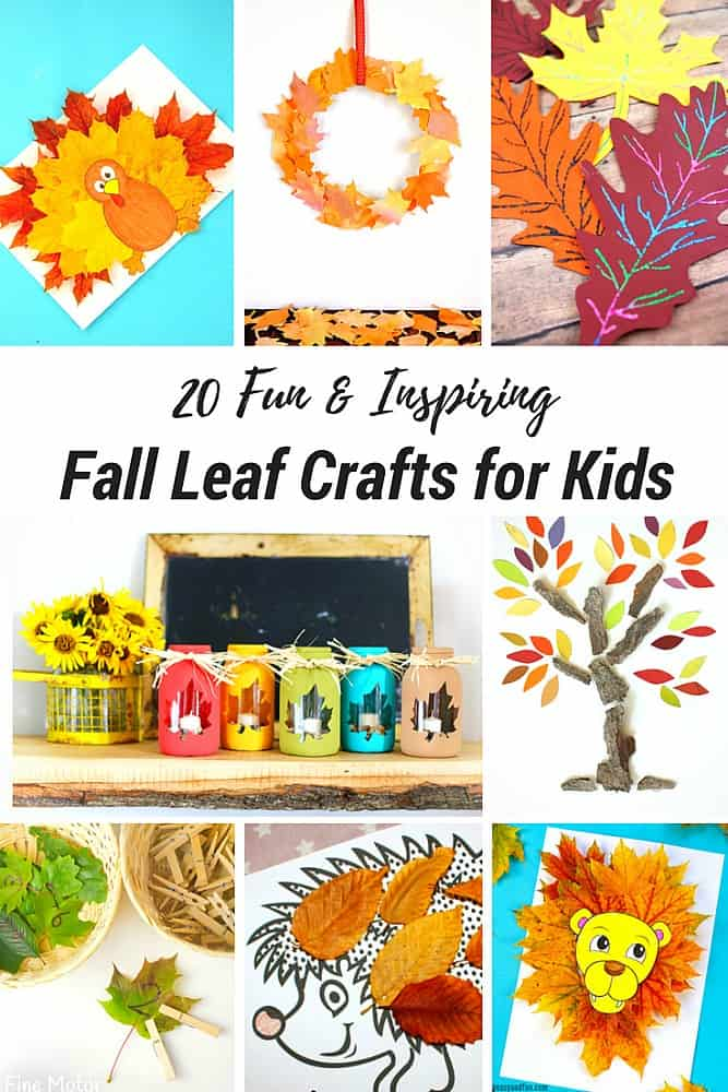 20 Fun And Inspiring Fall Leaf Crafts For Kids Buggy And