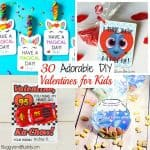 30+ DIY Valentines for Kids
